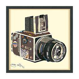 "Empire Art Direct ""SLR Camera"" Dimensional Art Collage Hand"