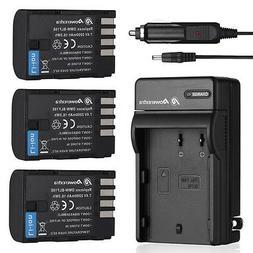 DMW-BLF19E BLF19 Battery + Charger For Panasonic Lumix DMC-G