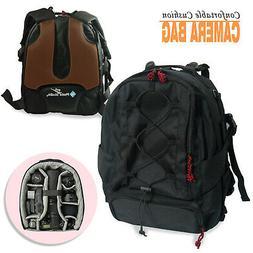 DSLR Camera Backpack Bag Case Water Resistant for Canon Niko