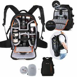 K&F Concept DSLR SLR Camera Backpack Bag Case Waterproof w/