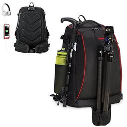 CADeN DSLR Camera Backpack Travel Waterproof Anti Theft Phot