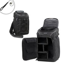 DSLR Camera Backpack Sling - Camera Bag with Carrying Sling