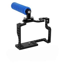 Koolertron DSLR Camera Cage With Top Handle Grip For Camera