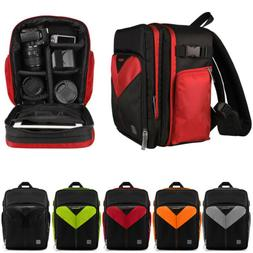 VanGoddy DSLR Camera & Accessory Backpack Carry Case For Can