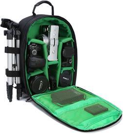 DSLR Camera Backpack Bag with Rain Cover/Tripod Holder for D
