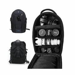 DSLR Camera Backpack Gadget Bag with Dividers,PROWELL Water