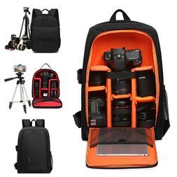 DSLR Camera Backpack Shoulder Large Laptop Bag Waterproof Ca