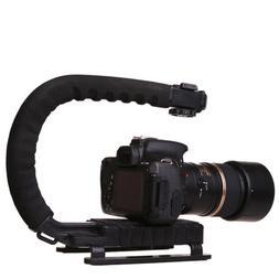 DSLR Camera C/U Shape Bracket Handle Grip Handheld Stabilize