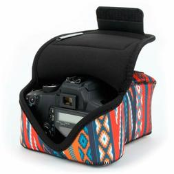 DSLR Camera Case/SLR Camera Sleeve  by USA Gear with Zippere