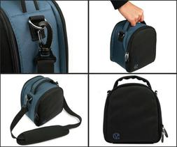 dslr camera lens shoulder bag carry case