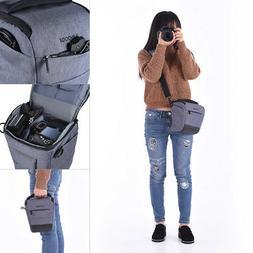 Andoer DSLR Camera Shoulder Bag Sleek Polyester Camera Case