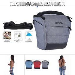 Andoer DSLR Camera Shoulder Sling Messenger Bag Gadget Case