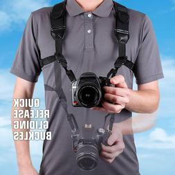 dslr camera strap chest harness