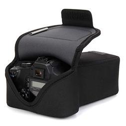 USA GEAR DSLR Camera Case/SLR Camera Sleeve for Zoom Lens wi