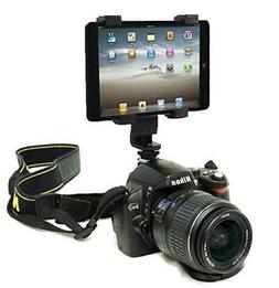 DSLR Hot Shoe Flash Camera Mount Holder for iPad mini 4/iPad