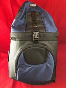 Zeikos DSLR Large Camera Bag Pack Case w/ ShoulderStrap Navy