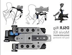DSLR Rig Movie Kit Film Making System Shoulder Mount Support