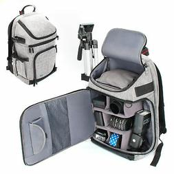 DSLR/SLR Camera Backpack with Laptop Compartment , Rain Cove