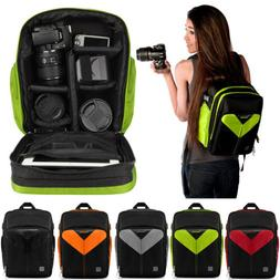 VanGoddy DSLR SLR Camera Lens Backpack Carry Case For Sony a