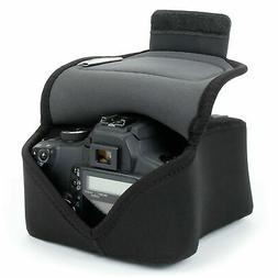 dslr slr camera sleeve case black
