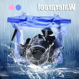 DSLR SLR Camera Waterproof Bag Case Strap Underwater Photogr