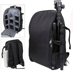 DSLR/SLR/TLR Camera Backpack Bag w/ Rain Cover/USB Charging
