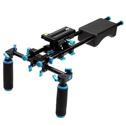 YELANGU Portable Filmmaker System with Camera/Camcorder Moun