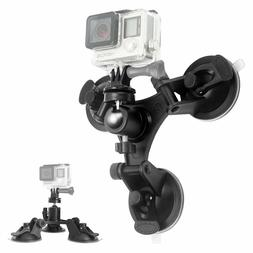 DSLR Suction Cup Action Video Camera Mount Holder Ball Head