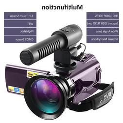 DSLR Video Digital Camera HDMI Ultra HD 1080P Waterproof DV