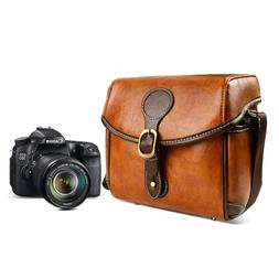 dslr vintage camera bag shoulder bag satchel