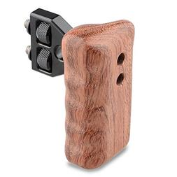 CAMVATE DSLR Wooden Handle for right Grip Mount Support for