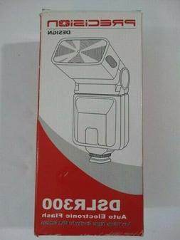 Precision Design DSLR300 Flash Auto Electronic Flash Low Vol
