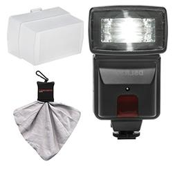 Precision Design DSLR300 High Power Auto Flash with Diffuser