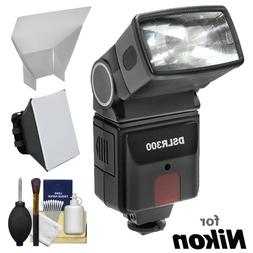 Precision Design DSLR300 High Power Auto Flash with Softbox