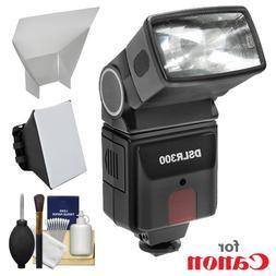 Precision Design DSLR300 High Power Auto Flash with Softbox