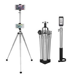 COMAN E300L Extension Selfie Stick and MT50 Mini Tripod Stan