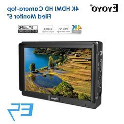 Eyoyo E5 5inch 4K <font><b>HDMI</b></font> <font><b>DSLR</b>