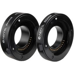 Vello Econo Auto Focus Extension Tube Set for Nikon 1 Mount