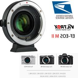 Viltrox EF-EOS M2 Auto Focus Lens Adapter 0.71X for Canon EF