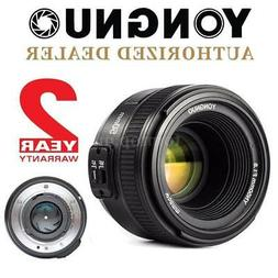 YONGNUO EF 50mm f/1.8 Auto Focus Prime Lens Aperture for Can