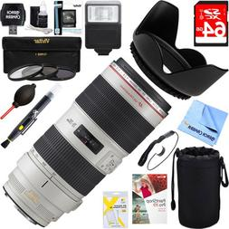 Canon EF 70-200mm f/2.8L IS II USM Telephoto Zoom Lens EOS D