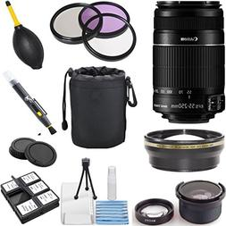 Canon EF-S 55-250mm f/4.0-5.6 IS II Telephoto Zoom Lens  Kit
