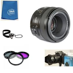 Yongnuo EF 50mm F1.8 Standard Prime Lens Kit for Nikon DSLR