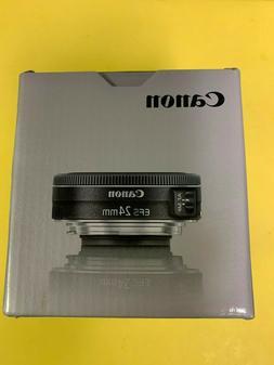 Canon EF-S 24mm f/2.8 STM Wide Angle Lens for Digital SLR Ca