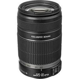Canon EF-S 55-250mm f/4-5.6 IS II Autofocus Lens for Digital