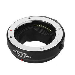 Electronic AF Auto Focus Adapter For Four Thirds 4/3 Lens to