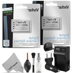 Vivitar EN-EL5 Battery and Charger Kit for NIKON Coolpix P5
