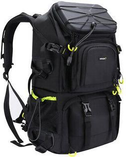 Endurax Extra Large Camera DSLR SLR Backpack For Outdoor Hik