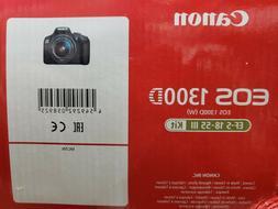 Canon EOS 1300D Digital SLR Camera + 18-55mm Lens HD 1080p/1