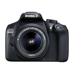 Canon EOS Rebel T6 / 1300D DSLR Camera with 18-55mm EF-S f/3